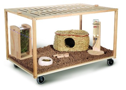 Living World Green Eco Habitat Medium from Hagen